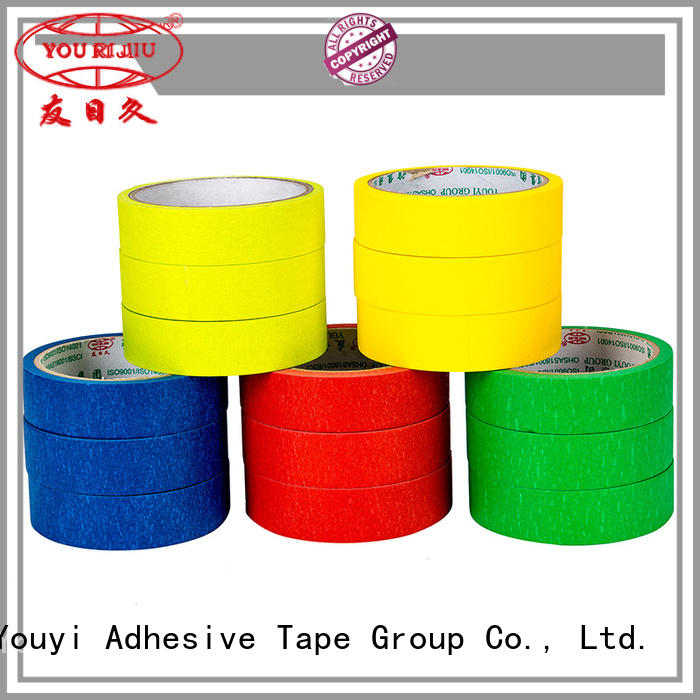 Yourijiu masking tape wholesale for light duty packaging