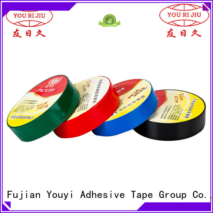 anti-static pvc adhesive tape factory price for wire joint winding