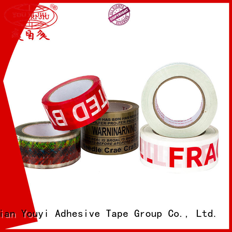 Yourijiu clear tape factory price for auto-packing machine