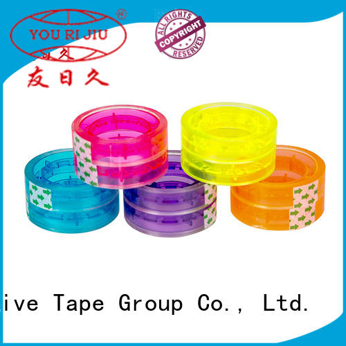 Yourijiu bopp adhesive tape anti-piercing for gift wrapping