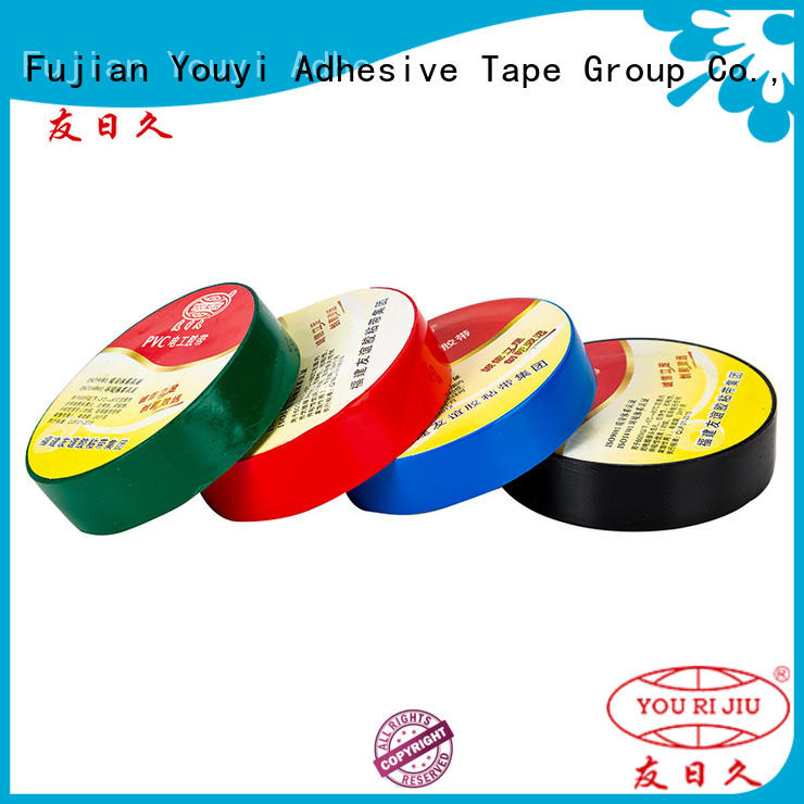 Yourijiu pvc electrical tape factory price for motors