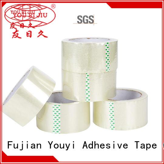 transparent bopp adhesive tape high efficiency for carton sealing