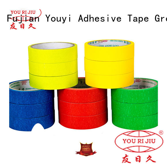 Yourijiu paper masking tape supplier for home decoration