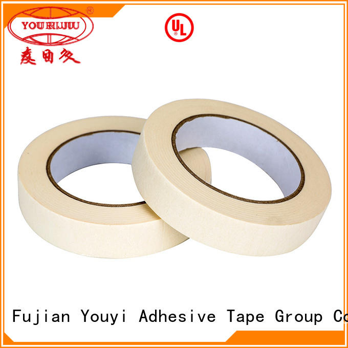 Yourijiu adhesive masking tape easy to use for woodwork