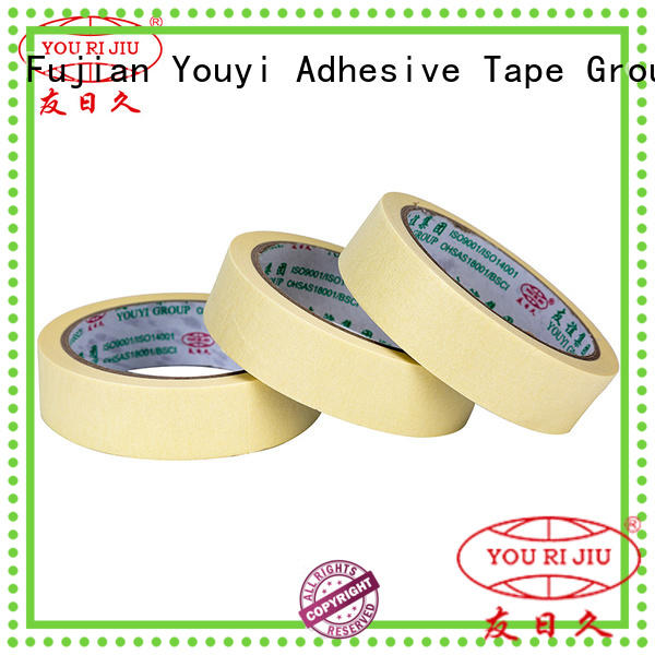 Yourijiu good chemical resistance best masking tape directly sale for light duty packaging