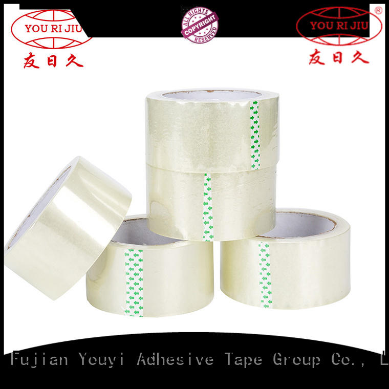Yourijiu transparent bopp printed tape high efficiency for auto-packing machine