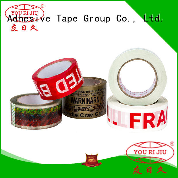 Yourijiu odorless clear tape factory price for decoration bundling