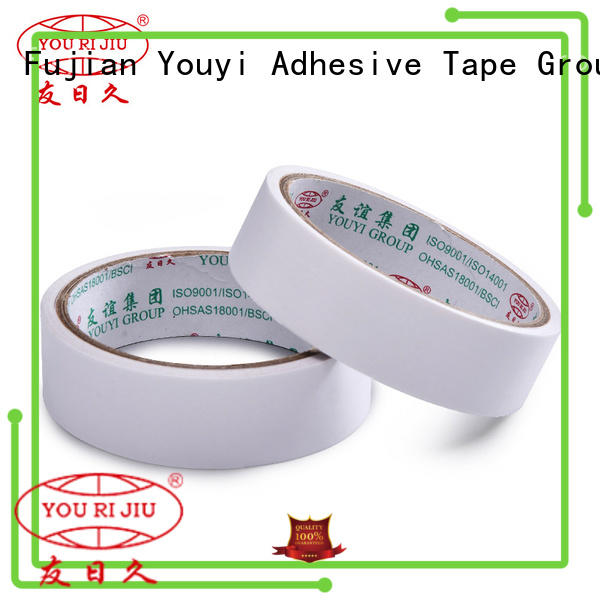 aging resistance double side tissue tape at discount for stickers