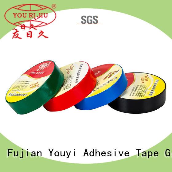Yourijiu anti-static pvc electrical tape wholesale for voltage regulators