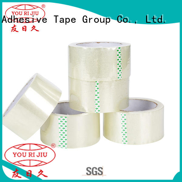 Yourijiu odorless bopp packaging tape high efficiency for auto-packing machine