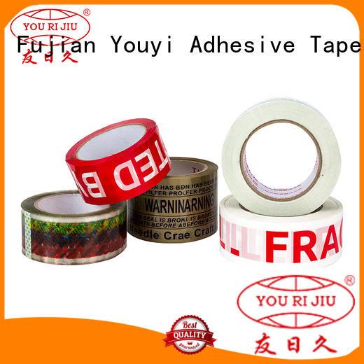 bopp adhesive tape for decoration bundling Yourijiu
