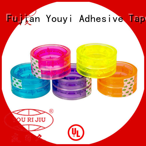 Yourijiu non-toxic bopp adhesive tape factory price for decoration bundling