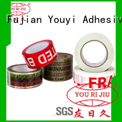 Yourijiu good quality clear tape factory price for strapping