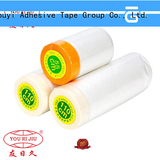 Yourijiu long lasting Pre-taped masking Film factory