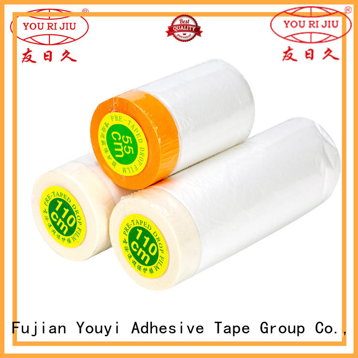 Yourijiu popular Pre-taped masking Film design for office