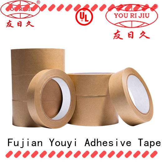 Yourijiu durable kraft tape directly sale for package