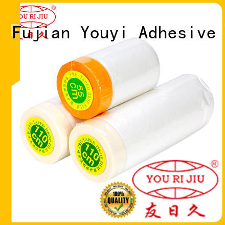 Yourijiu customized masking film for painting masking film roll for use in painting pe masking film for household