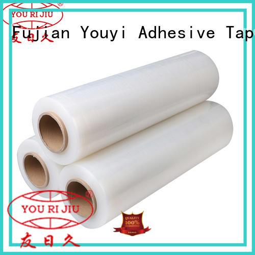 Yourijiu stretch film wrap supplier for hold box