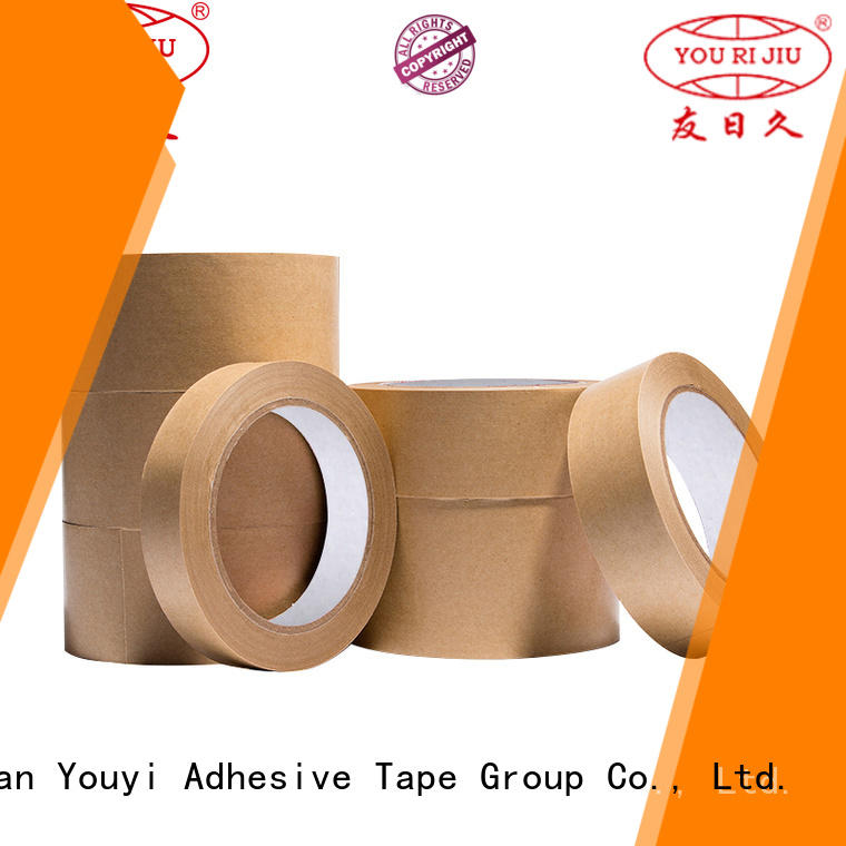 Yourijiu high quality kraft tape factory price for decoration