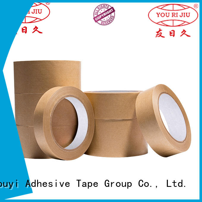 Yourijiu multi function kraft paper tape directly sale for stationary