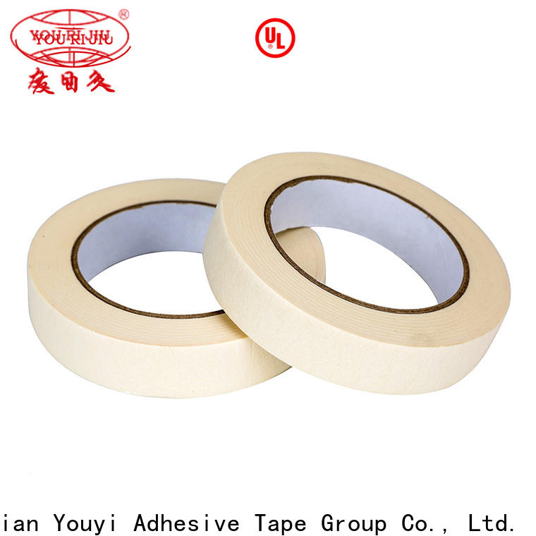 Yourijiu good chemical resistance paper masking tape supplier for light duty packaging