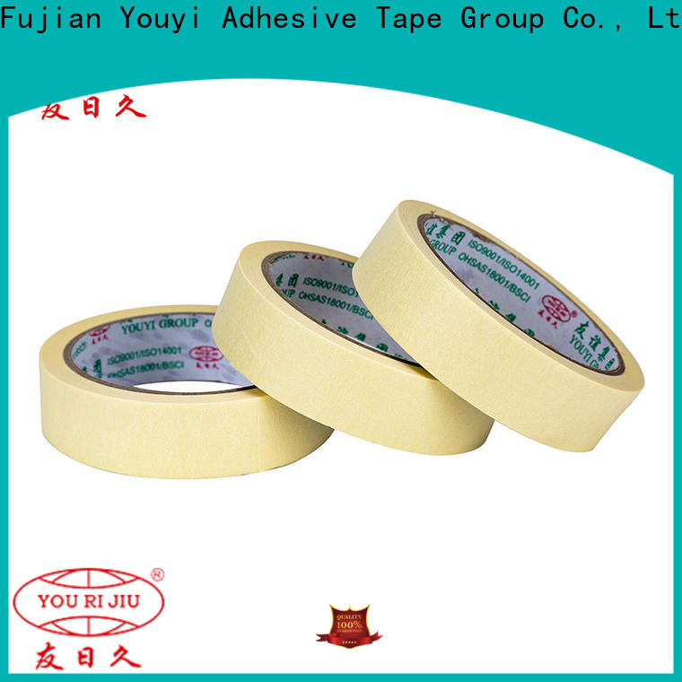 Yourijiu no residue masking tape directly sale for light duty packaging