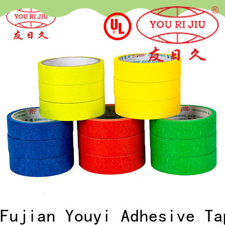 Yourijiu adhesive masking tape wholesale for light duty packaging