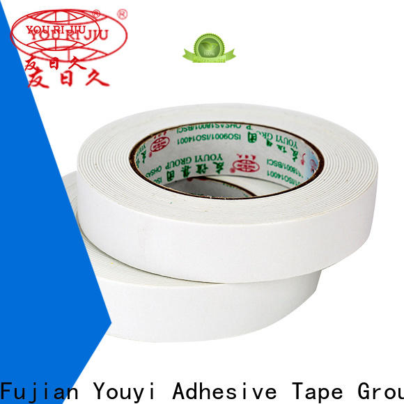 Yourijiu professional double sided eva foam tape promotion for stationery