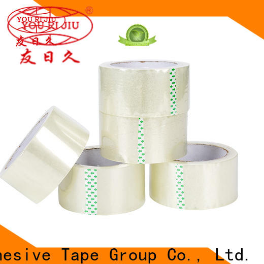 Yourijiu transparent bopp adhesive tape high efficiency for gift wrapping