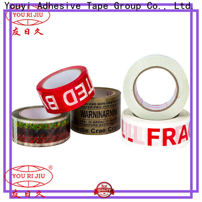 good quality bopp printed tape high efficiency for strapping