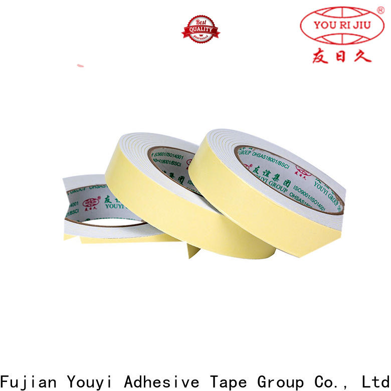 Yourijiu two sided tape manufacturer for food