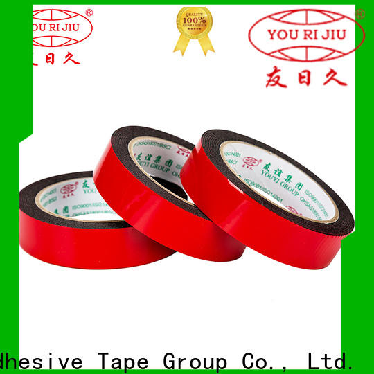 aging resistance two sided tape manufacturer for stickers