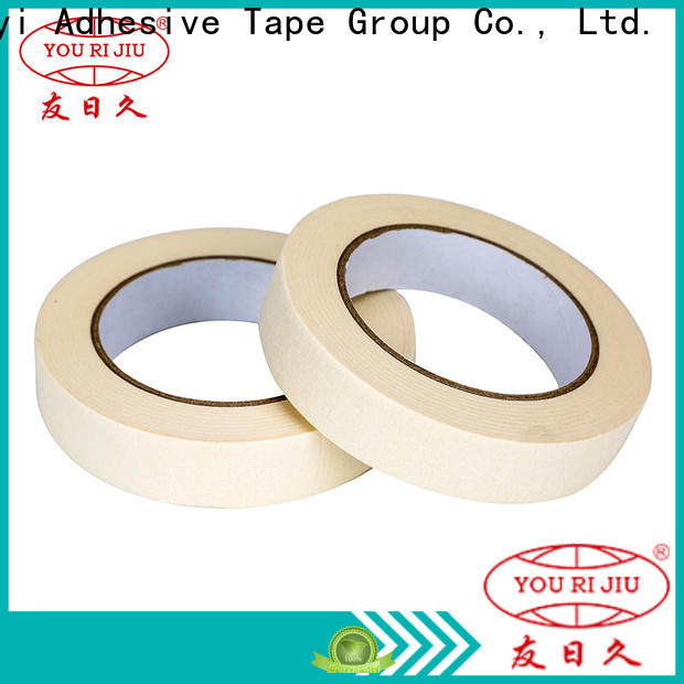 Yourijiu masking tape price supplier for light duty packaging