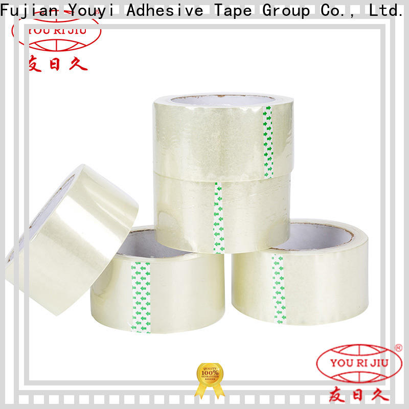 Yourijiu transparent colored tape anti-piercing for carton sealing