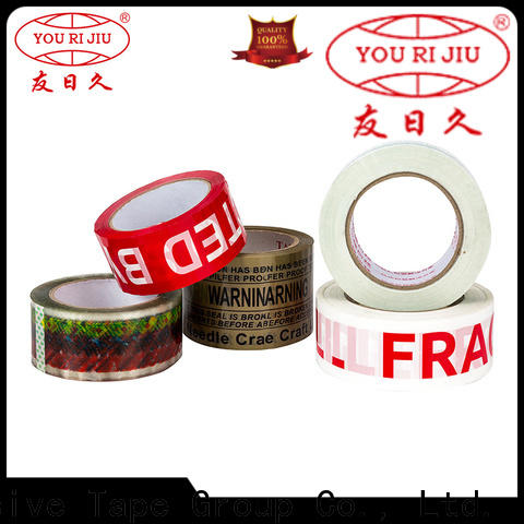 Yourijiu clear tape high efficiency for carton sealing