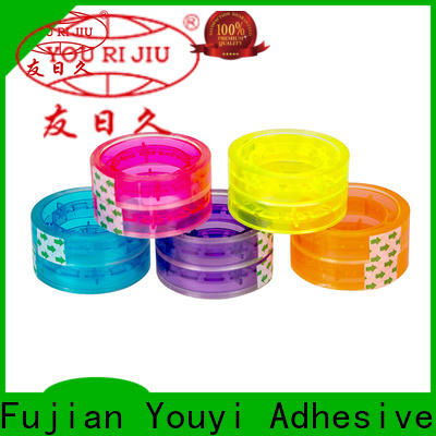 good quality colored tape anti-piercing for strapping