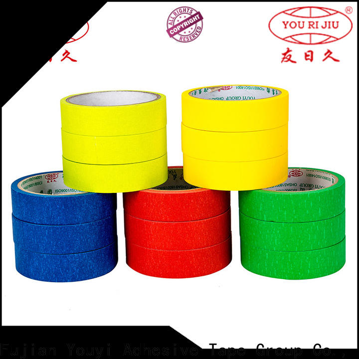 Yourijiu good chemical resistance best masking tape supplier for woodwork