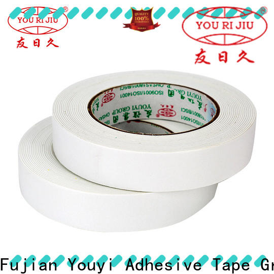 Yourijiu aging resistance two sided tape manufacturer for food