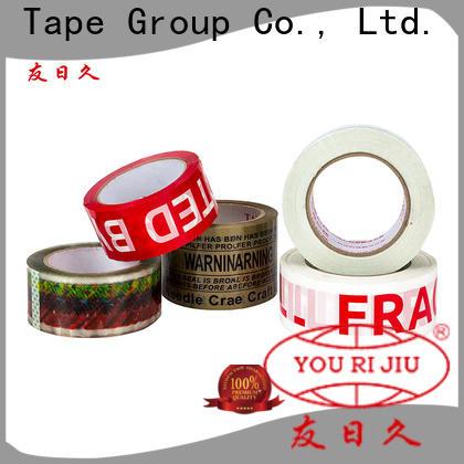 transparent bopp tape anti-piercing for auto-packing machine