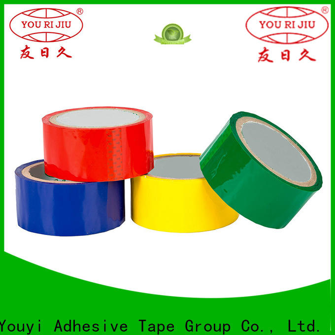 good quality colored tape factory price for carton sealing