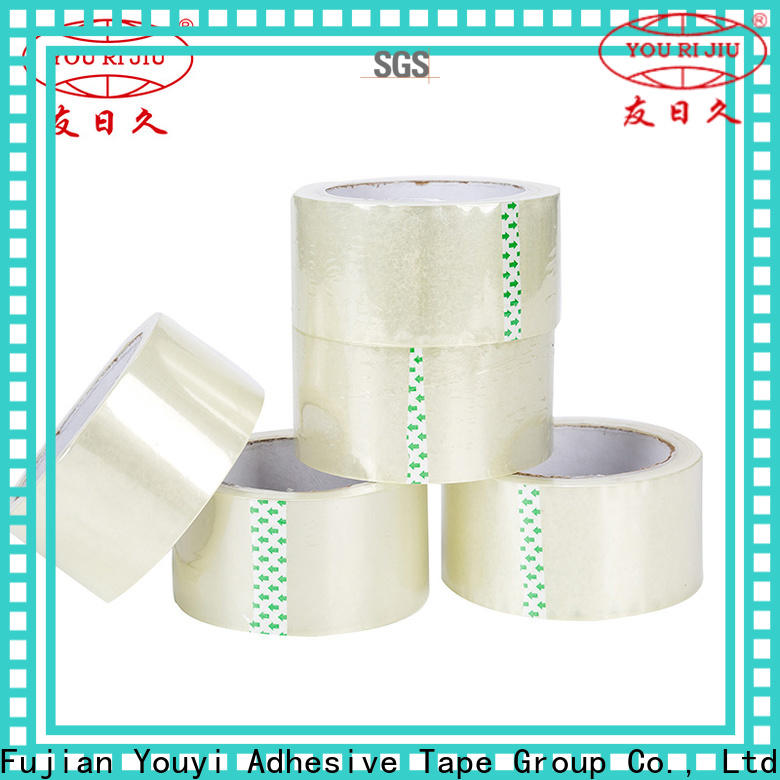 Yourijiu good quality bopp tape factory price for strapping