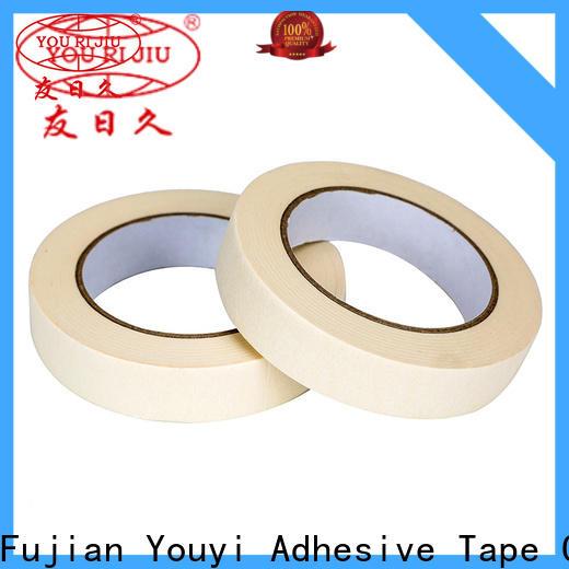 Yourijiu high adhesion best masking tape wholesale for bundling tabbing
