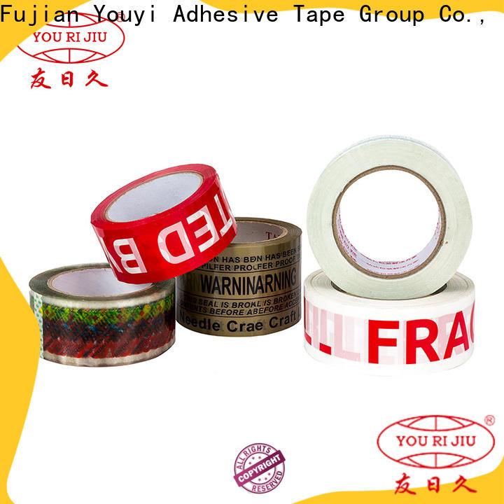 Yourijiu transparent bopp packaging tape high efficiency for auto-packing machine