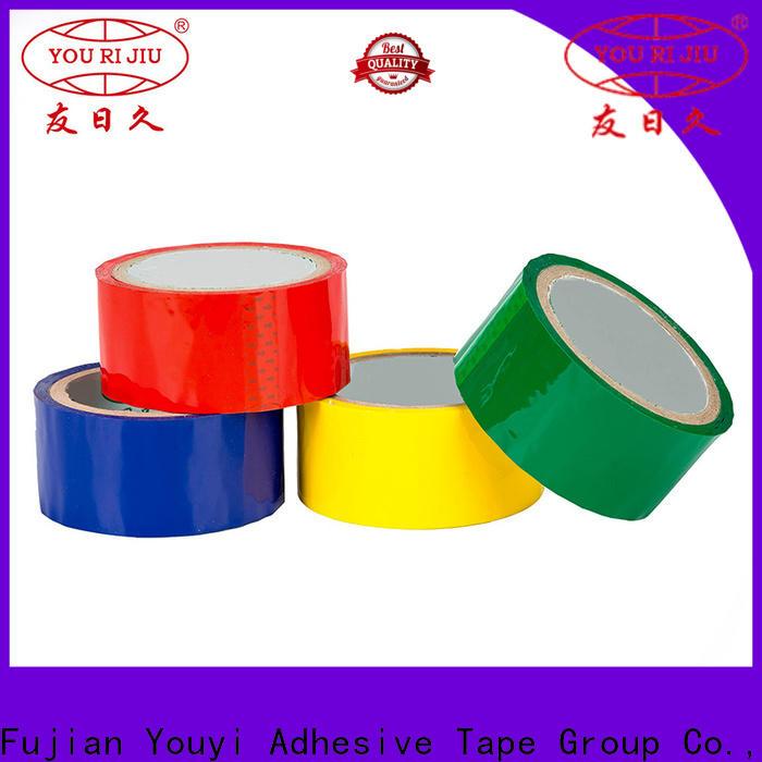 Yourijiu bopp adhesive tape supplier for carton sealing