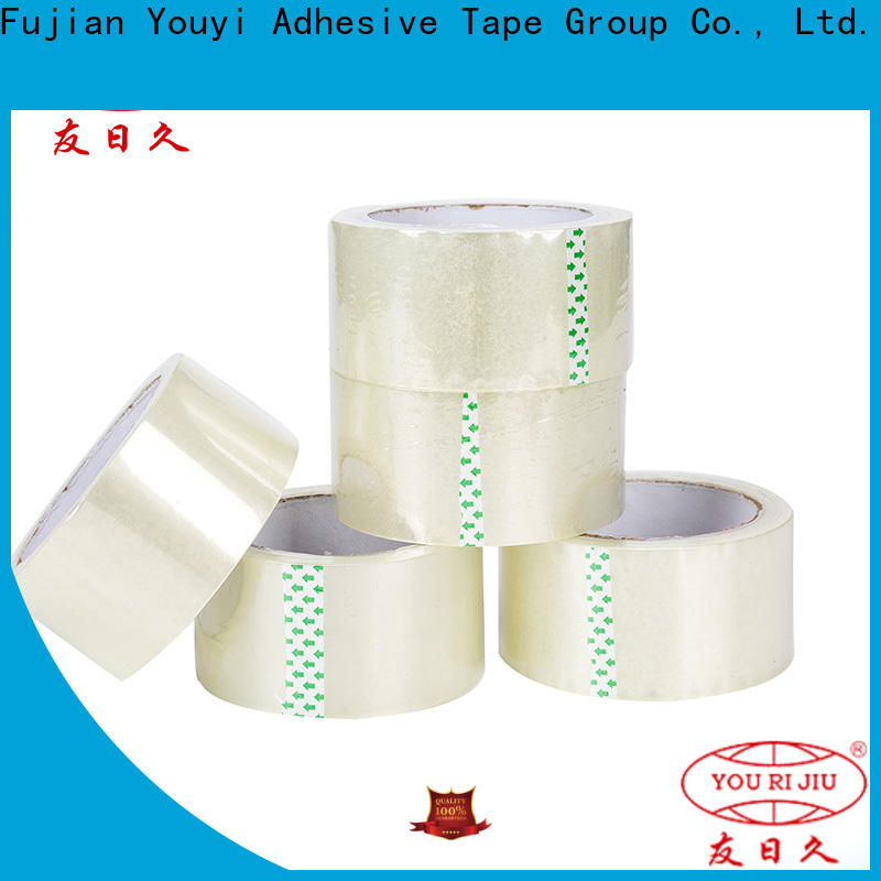 odorless clear tape factory price for auto-packing machine