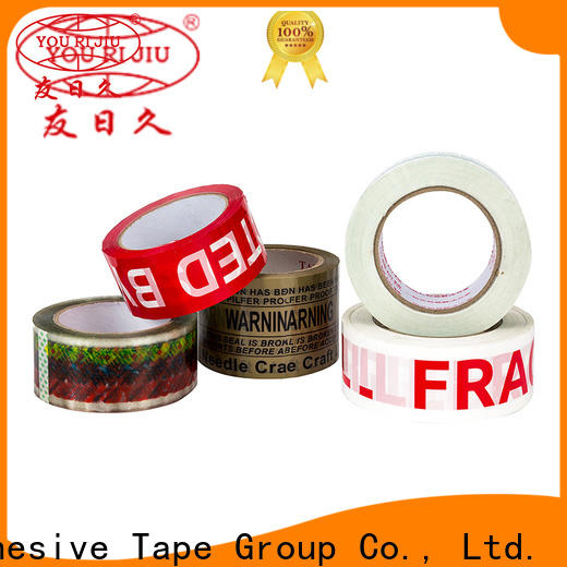 transparent bopp packaging tape supplier for carton sealing