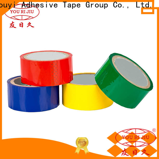 Yourijiu non-toxic bopp packaging tape high efficiency for carton sealing