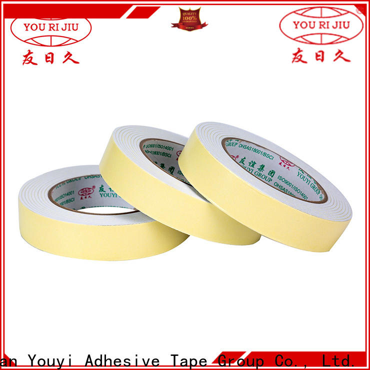 Yourijiu anti-skidding double sided eva foam tape at discount for stationery