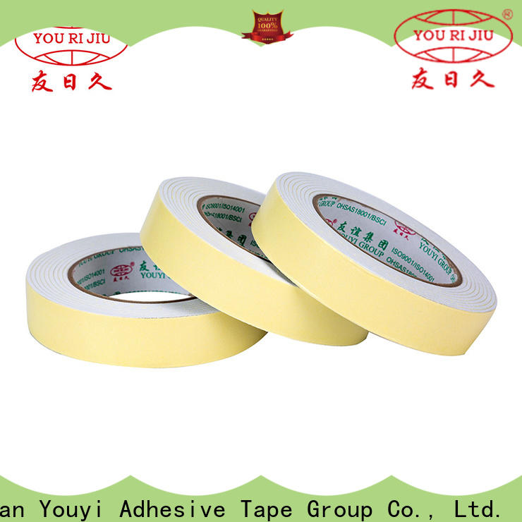 Yourijiu safe double sided foam tape at discount for food