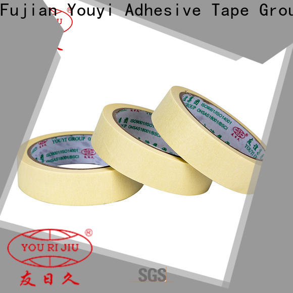 high temperature resistance adhesive masking tape wholesale for light duty packaging